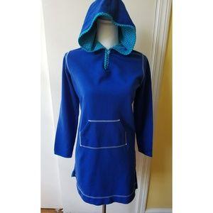 Land's End Girl Hooded Dress